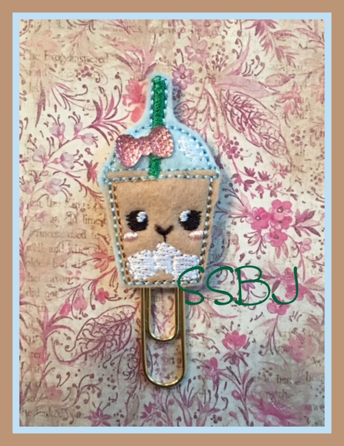 SSBJ Kutie Iced Coffee Embroidery File
