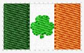 SS Irish Flag Embroidery File