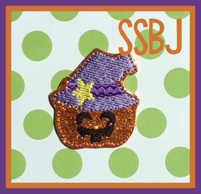 Hallow Kutie Kids Jack Lantern  Embroidery File