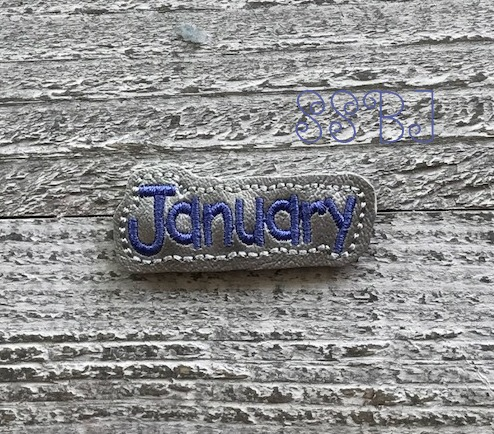 SSBJ January Bubble Embroidery File