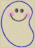 Jelly Bean Embroidery File