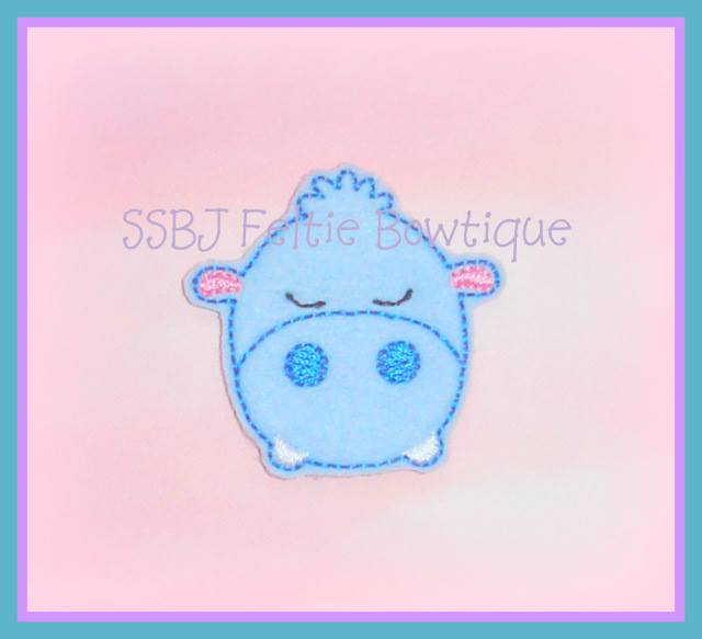 Jungle Hippo Embroidery File