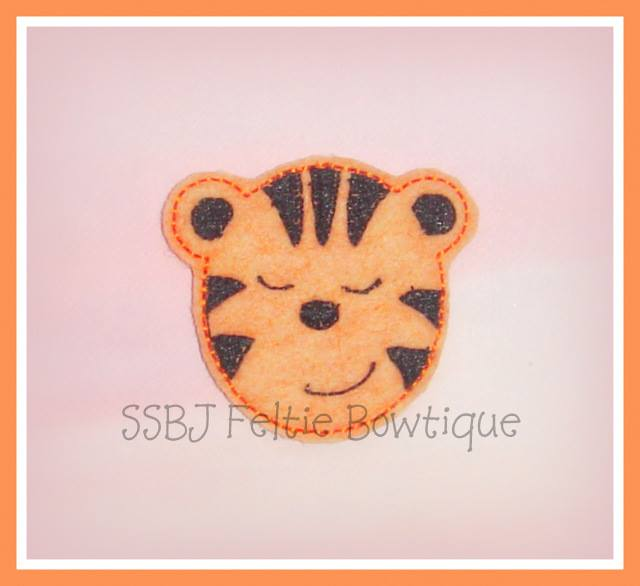 Jungle Tiger Embroidery File
