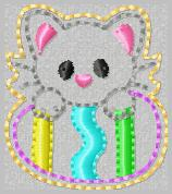 April Kitty Club Embroidey File