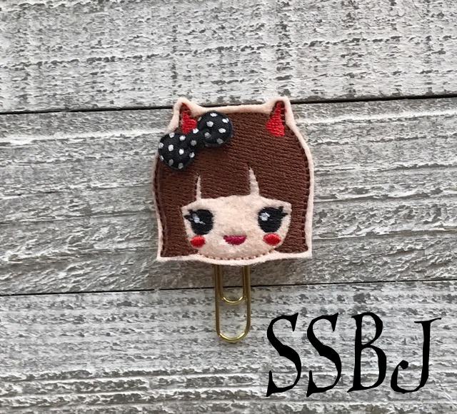 SSBJ Kawaii Kutie Devil Embroidery File