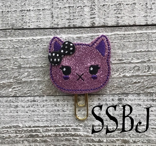 SSBJ Kawaii Kutie Kitty Embroidery File