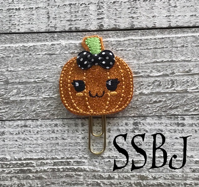 SSBJ Kawaii Kutie Pumpkin Embroidery File