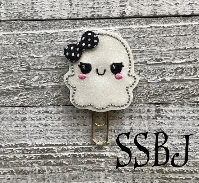 SSBJ Kawaii Kutie Ghost Embroidery File