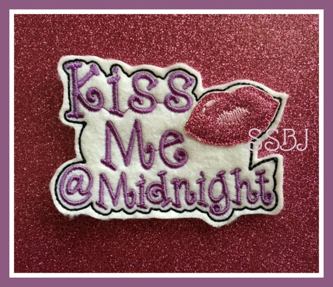 SSBJ Kiss Me at Midnight Embroidery File