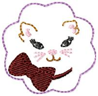 M2M Kitty 2 Embroidery File