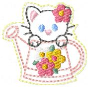 May Kitty Club Embroidery File