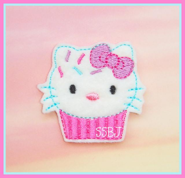 HK Cupcake Sprinkle Embroidery File