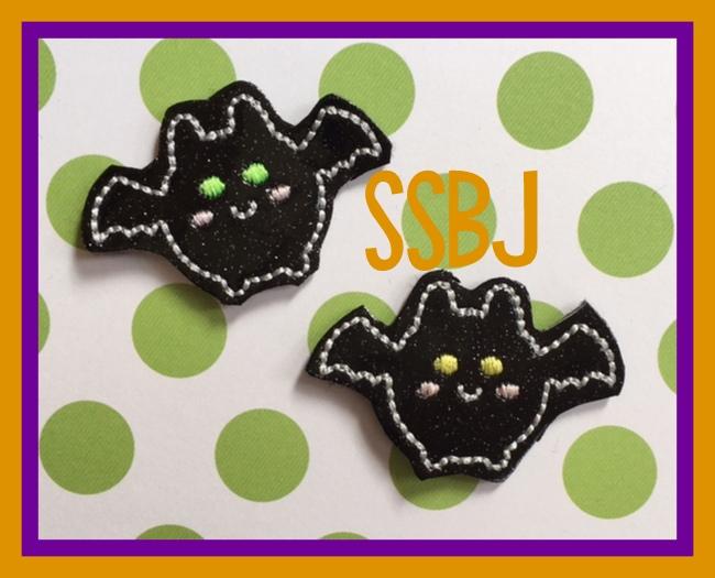 SSBJ Kutie Bat Lantern  Embroidery File
