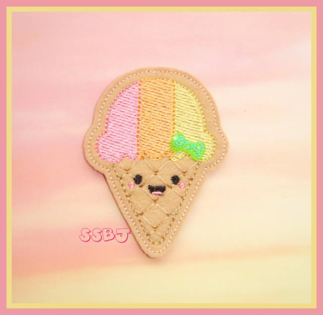 Kutie Cone Embroidery File