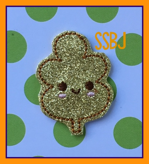 SSBJ Kutie Leaf #1 Embroidery File