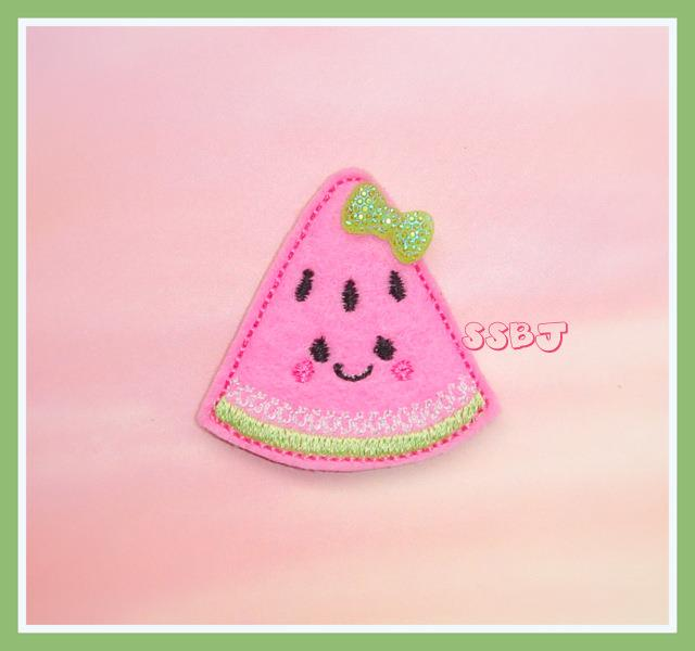 Kutie Watermelon Embroidery File