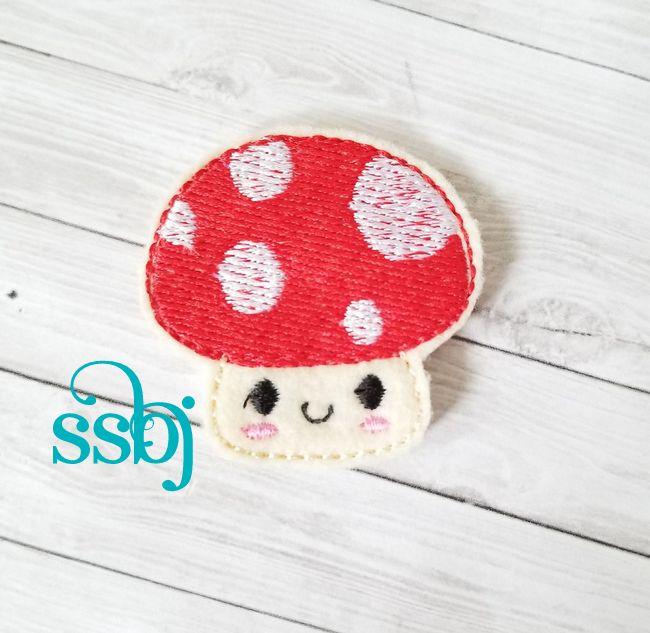 SSBJ Kutie Mushroom Embroidery File