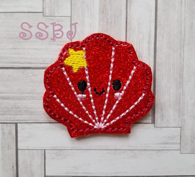 SSBJ Kutie Seashell Embroidery File