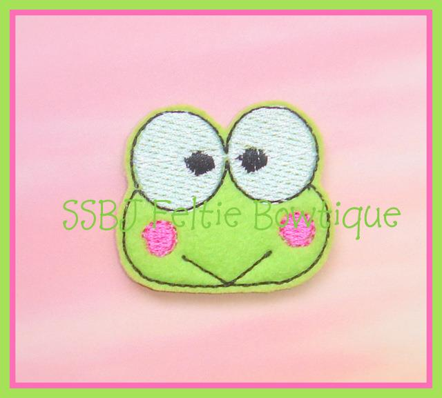 Kero the Frog Embroidery File