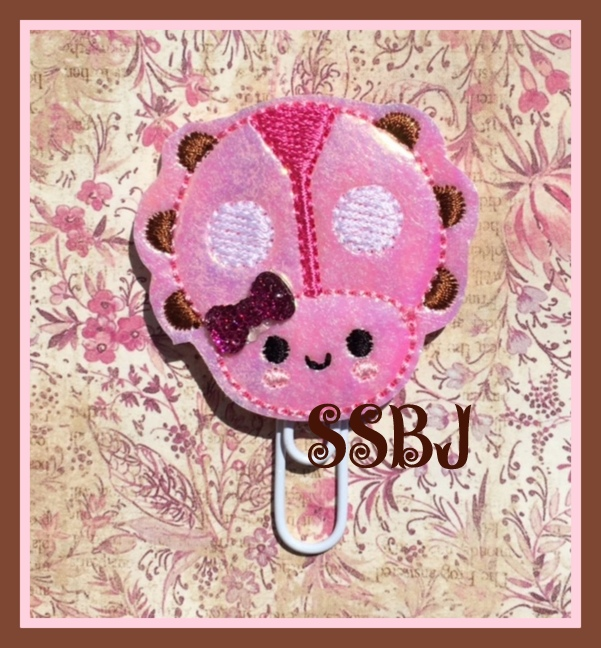 SSBJ Kutie Ladybug Embroidery File