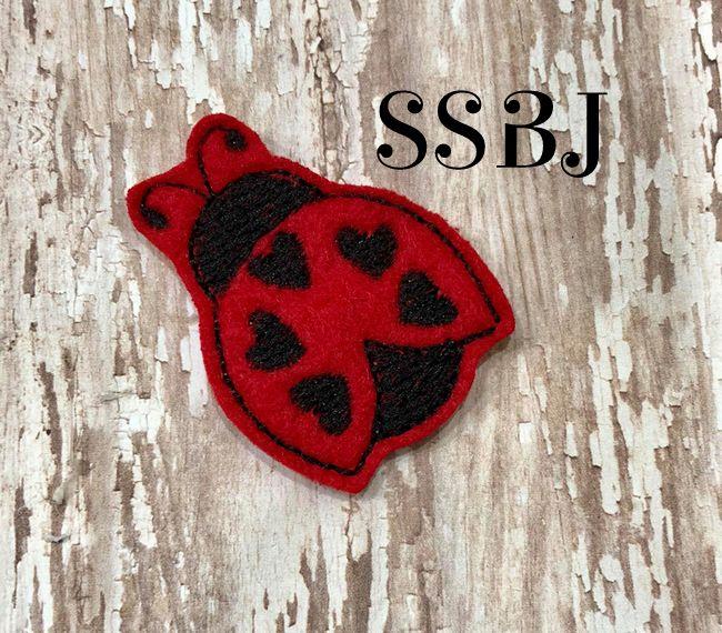SSBJ Love Ladybug Embroidery File
