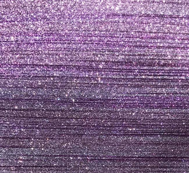 Lavender Sugar Stripe Glitter Mirror Vinyl