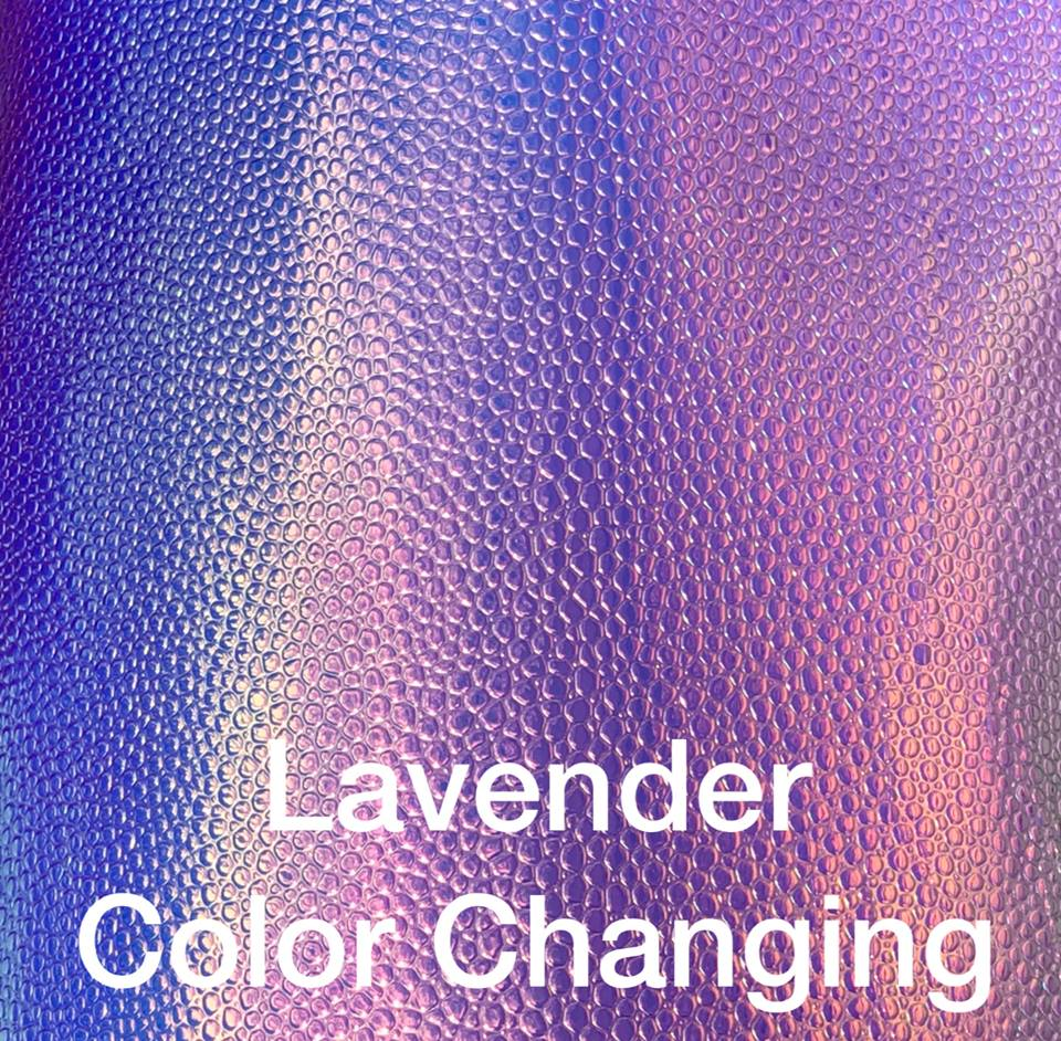 Lavender Color Changing Vinyl