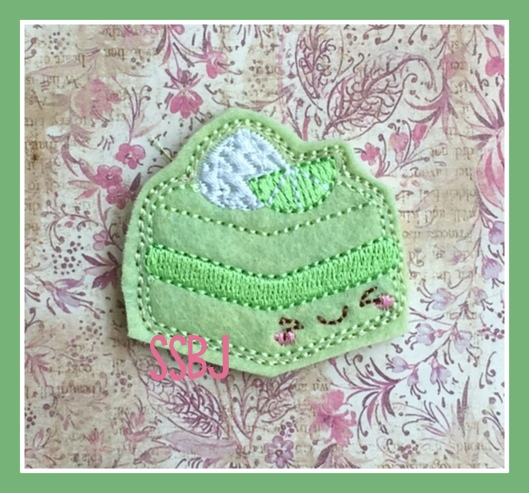 SSBJ Key Lime Cake Embroidery File