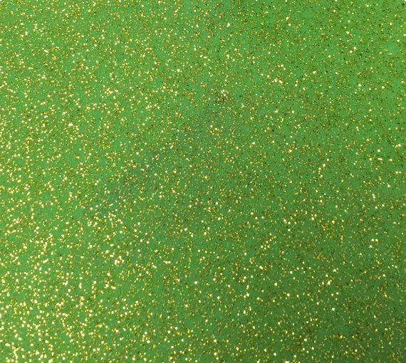 Grinch Lime Green Sparkle Vinyl with Gold Speckles