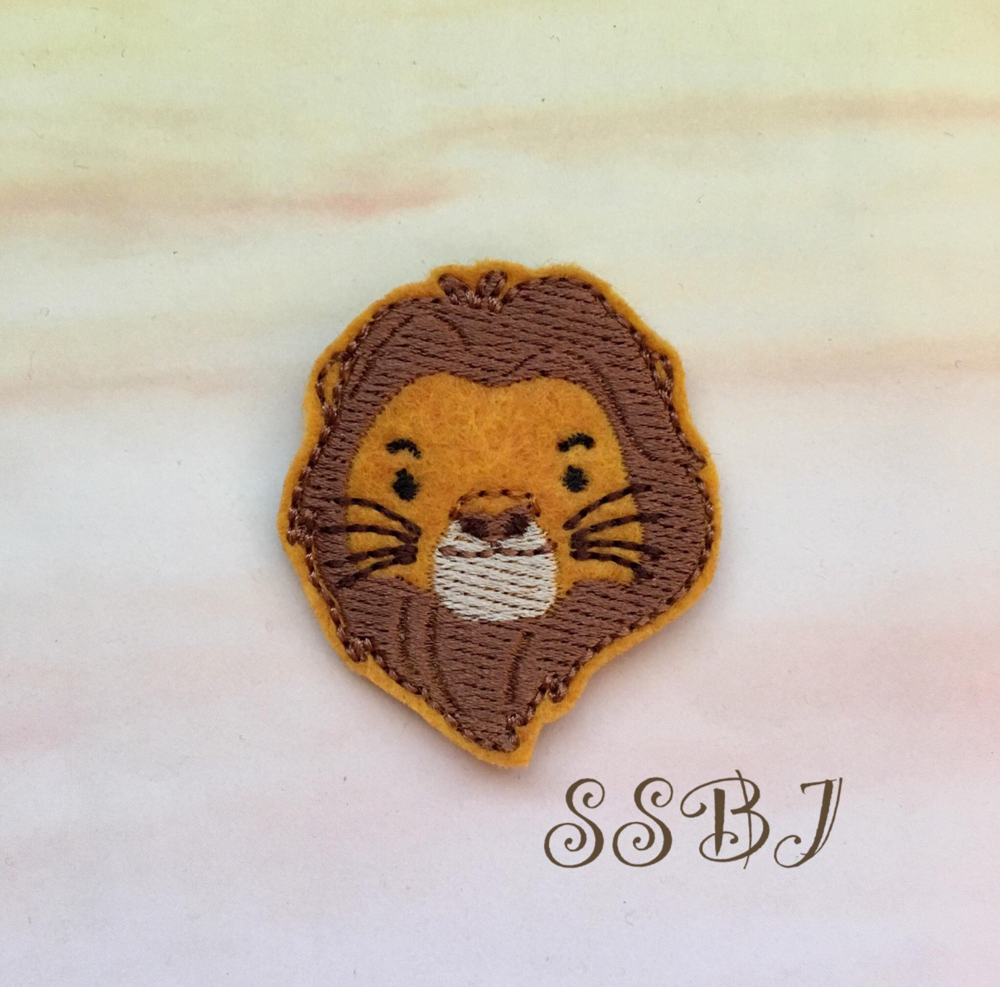SSBJ Lion Friends Mufasa Embroidery File