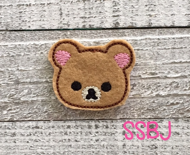 SSBJ Little Bear Embroidery File