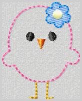 Little Chickie Embroidery File