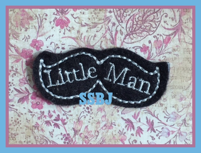 SSBJ Little Man Embroidery File