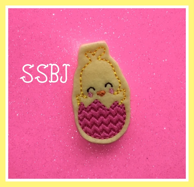 SSBJ Sweet Chickie Embroidery File