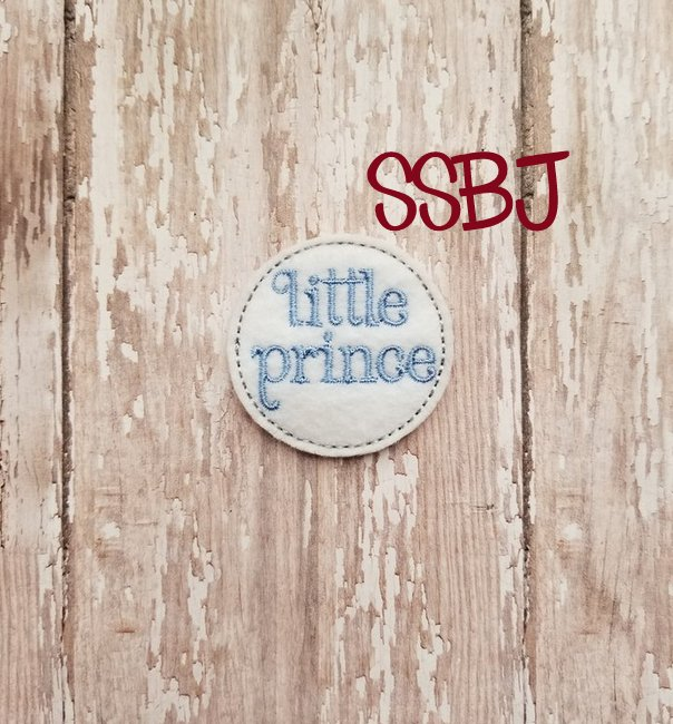 SSBJ Little Prince Embroidery File