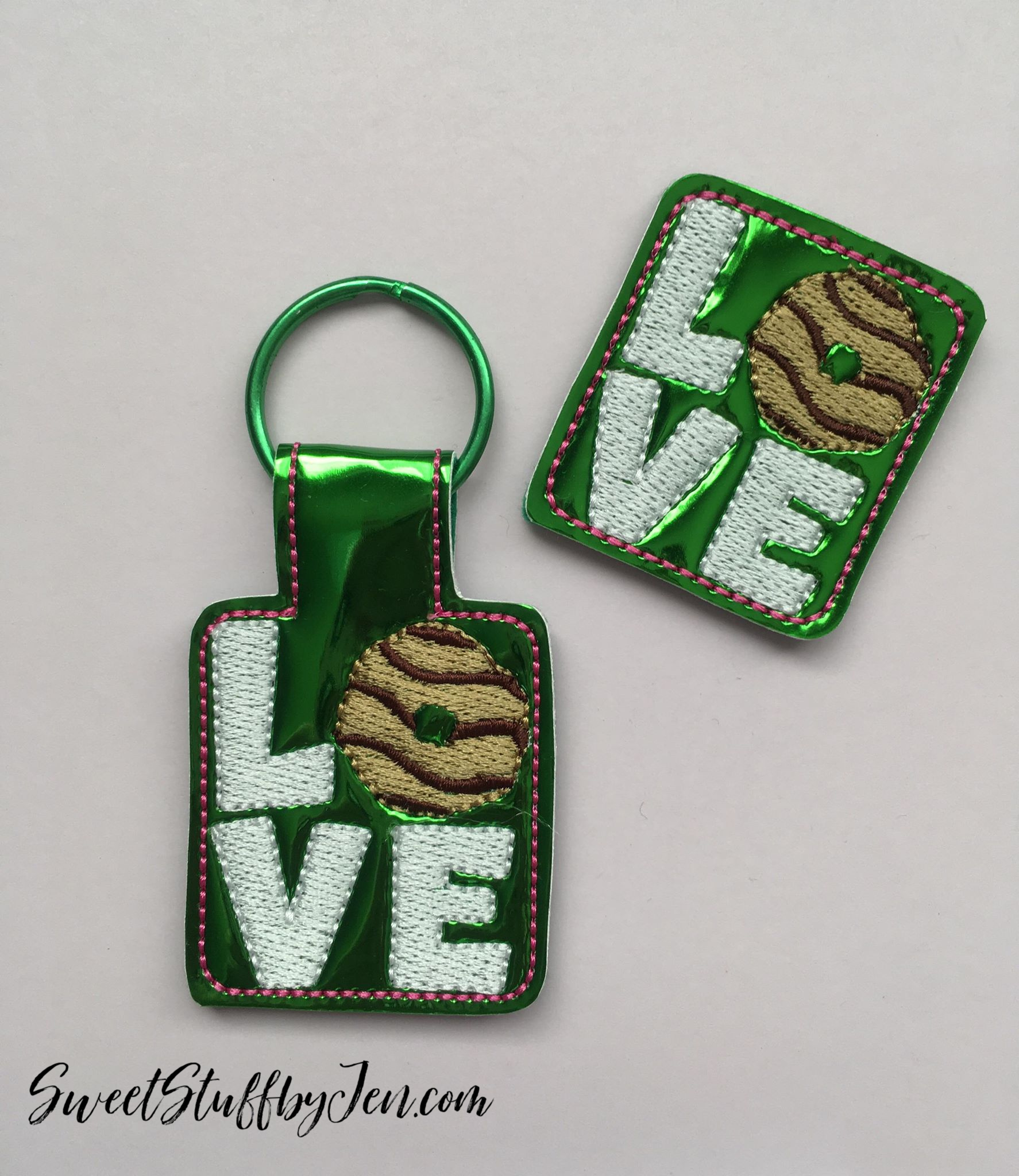 SSBJ GS Cookie LOVE Embroidery File