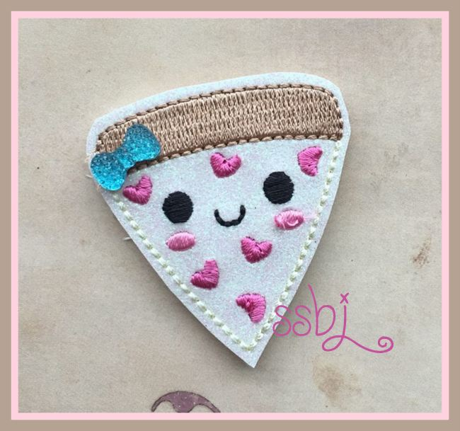 SSBJ Love Pizza Embroidery File
