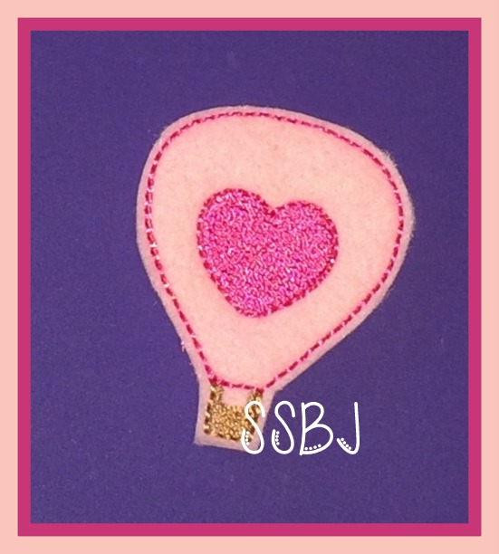 Love is in the Air Embroidery File