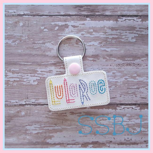 LuLa Key Chain Embroidery File