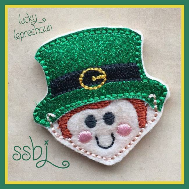 SSBJ Little Leprechaun Embroidery File