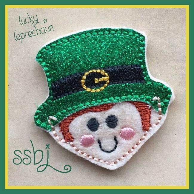 SSBJ Little Leprechaun Embroidery File