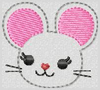 M2M Mouse Embroidery File