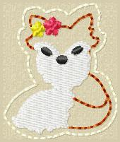 M2M Fox Embroidery File