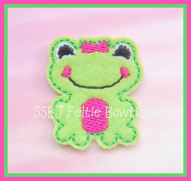 M2M Froggie Embroidery File