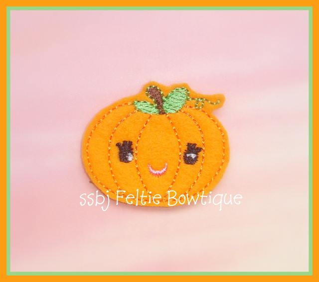M2M Pumpkin Embroidery File