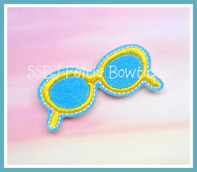 Sunglasses Embroidery File
