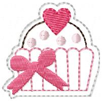 M2M Cupcake Embroidery File