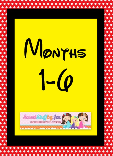 SSBJ Magical Month 1-6 Embroidery File