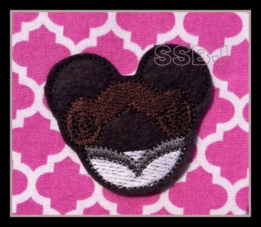 MMSW Princess Leia Embroidery File