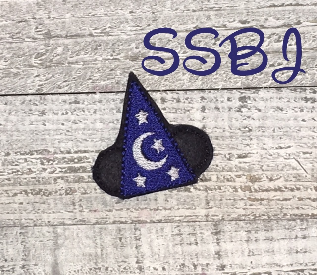 SSBJ Mouse Magic Hat Embroidery File